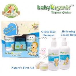 Baby Organix Sensitive Trio Set