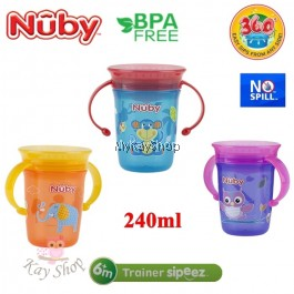 Nuby 360º Wonder Cup With Handle - 240ml
