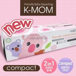 K-MOM Anti-Bacteria Zipper Bag Compact - 30pcs