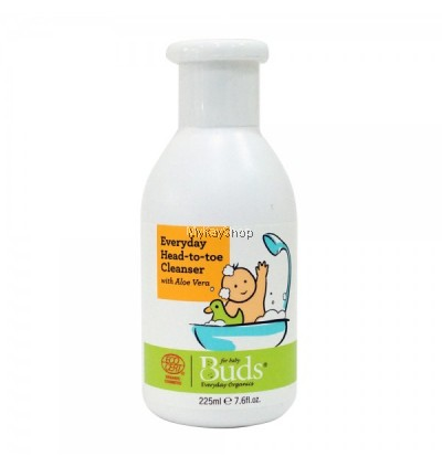 BUDS Everyday Baby Head to Toe Cleanser - 225ml