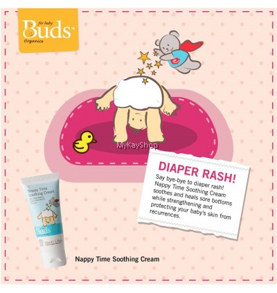 BUDS Soothing Organics: Nappy Time Soothing Cream - 50ml
