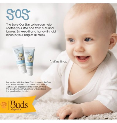 BUDS Soothing Organics Save Our Skin Lotion - 50ml