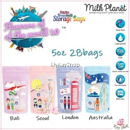 Milk Planet Breastmilk Storage Bag PREMIUM - 5oz world