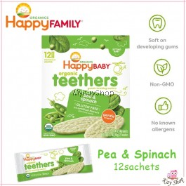 Happy Baby Organic Baby Teether Wafers (Expiry: 29-April-2020)