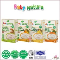 Baby Natura Organic Brown Rice Porridge (20g x 6) - HALAL