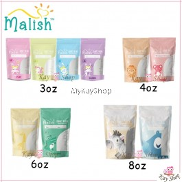 MALISH SAVE 'N GO Breast Milk Bags (3oz 28Bags / 4oz 28Bags / 6oz 28Bags / 8oz 28 Bags)